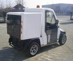 REC Q BMS in utility vehicle