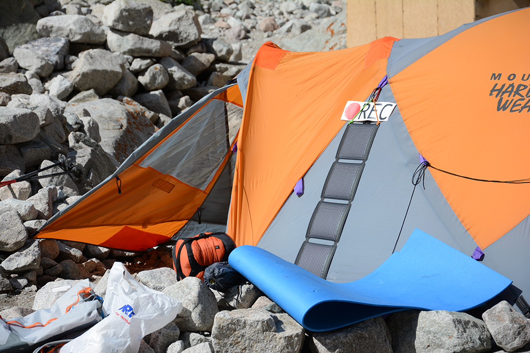 Alpinistic expedition with EnerPlex Solar Chargers