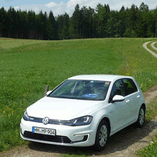 electric VW Golf